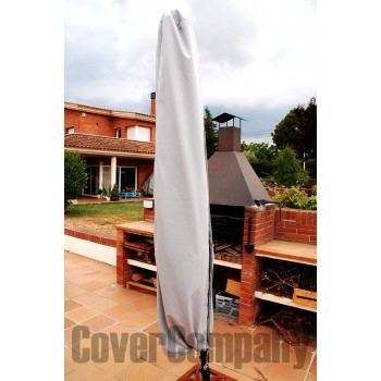 Funda impermeable sombrilla jardin